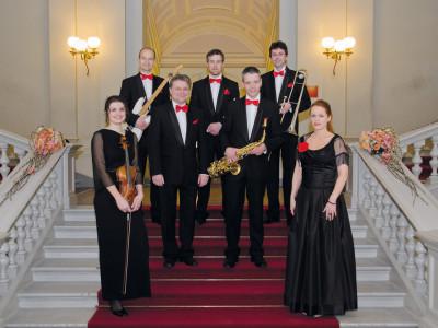 Die »Dresdner Galaband Fridtjof Laubner«